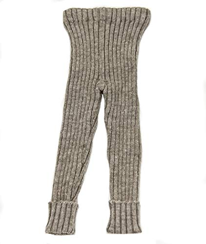 Monwool Double Knitted Wool Pant for Kids (Brown, 1-2 -