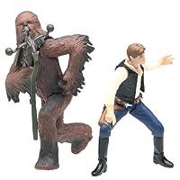 25º aniversario de Han Solo y Chewbacca Death Star Escape de Star Wars