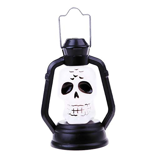 - Halloween Skull Ghost Lamp Night Light Hanging Lamp Horror Halloween Decor Props for Indoor and Outdoor - C