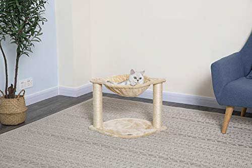Go Pet Club F104 Tree Condo Scratcher Post Pet Bed Furniture