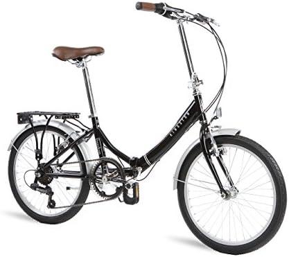 Kingston Freedom - Bicicleta Plegable, Aluminio, Negro: Amazon.es ...
