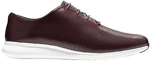 Cole Haan Womens 2.Zerogrand Laser Wing Oxford Cordovan Leather-optic White roEtJt