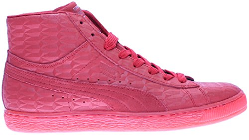 Puma Men's Mid Me Iced Suede Fashion Sneaker High Risk Red/White excellent cheap price discount 2014 newest sale get to buy cheap sale shop cVOJGVRxW