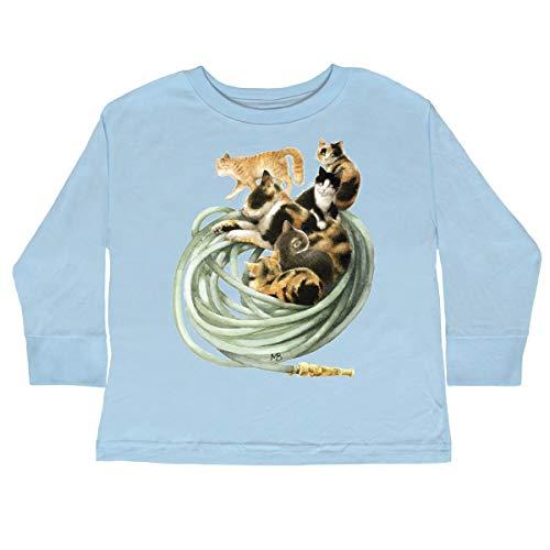 inktastic - Toddler Long Sleeve T-Shirt 3T Light Blue - Marjolein Bastin 33567 ()