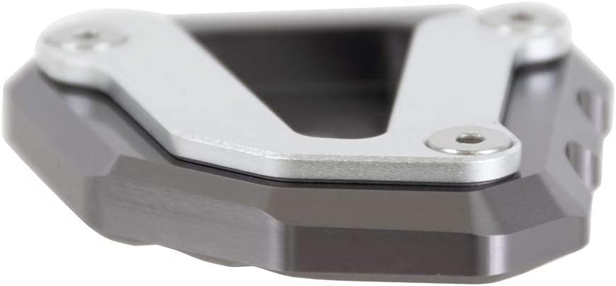 per Duke 790 2018-2019 Nero Nawenson allargamento del piede del cavalletto laterale del motociclo Piastra ingranditore in alluminio