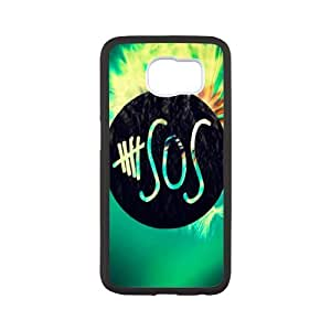 Rock Band Style BlackSamSung Galaxy S6 5 Seconds of Summer For SamSung Galaxy S6