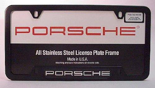Porsche License Plate - 5