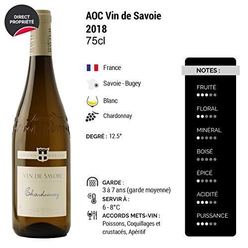Vin-de-Savoie-Chardonnay-Blanc-2018-Philippe-et-Sylvain-Ravier-Vin-AOC-Blanc-de-Savoie-Bugey-Cpage-Chardonnay-Lot-de-12x75cl