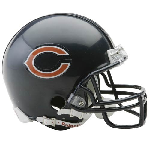 (Riddell Chicago Bears Replica Mini Helmet)
