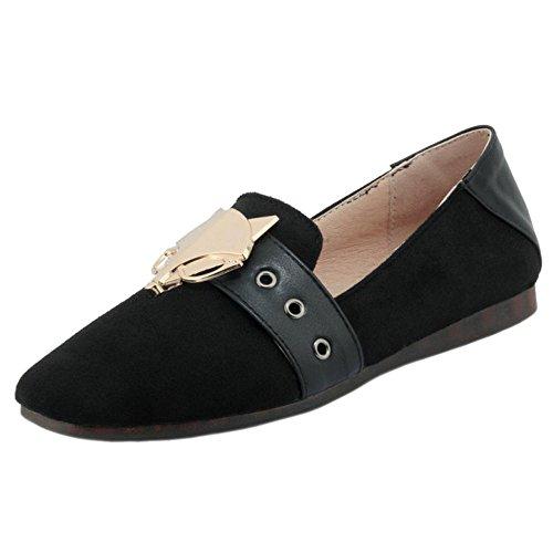 88 Zapatos Para RAZAMAZA Bajo Black Mujer Tacon de OdxwRq40