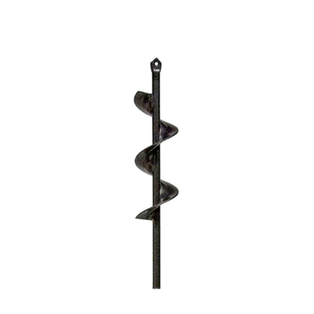 30 * 8 cm Wxhkj Pflanzer-Gartenschnecken-Spiralbohrer-Pflanzloch-Bagger-Bohrer