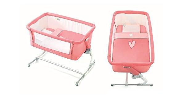 Jane babyside T04 Cute – Cuna Lado cama + Esterilla + Cojín + ...