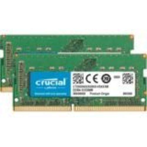 (Crucial 16GB Kit (8GBx2) DDR4 2400 MT/s (PC4-19200) SR x8 SODIMM 260-Pin for Mac - CT2K8G4S24AM)