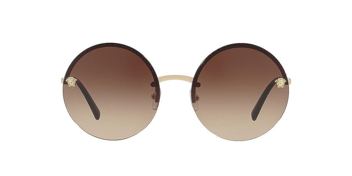 875f238b7eda Amazon.com  Versace Women s Round Medusa Sunglasses