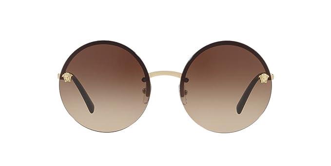 30ca2427031b Amazon.com  Versace Women s Round Medusa Sunglasses