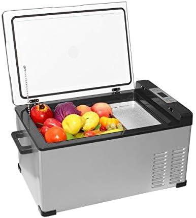 Weiaxminibx 25Lカー冷蔵庫コンプレッサーユニバーサルデュアル使用ミニクーラーボックスFrezzer -20〜20度