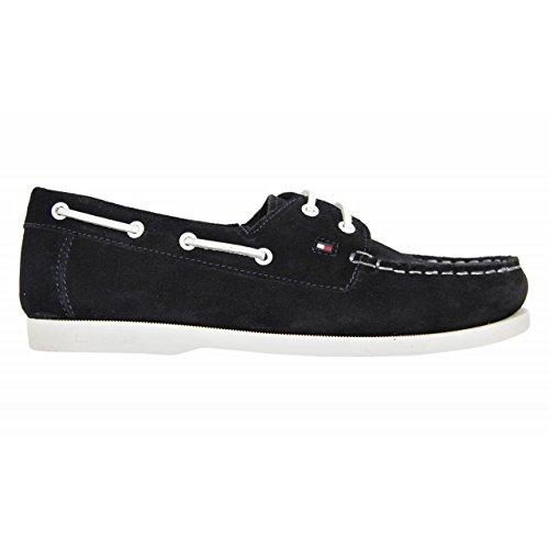 Chaussures bateau pour Garçon TOMMY HILFIGER FB56816954 SAIL 1B MIDNIGHT
