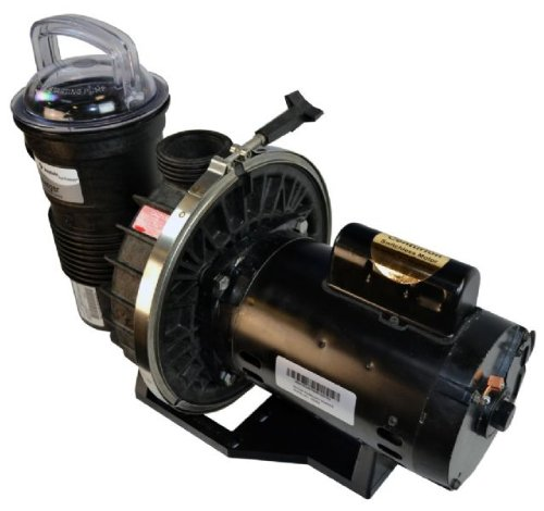Pentair CFII-NI-3/4A Challenger Standard Efficiency Single Speed Up Rated High Flow In Ground Pool Pump - 3/4 HP ()