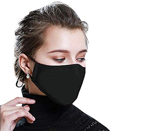 Cotton Reusable Face Mask Protection Washable Facial Mouth Nose Shield Breathable Anti Dust Smoke Pollution Bike…