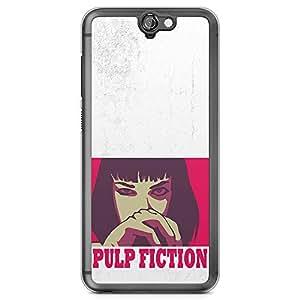Loud Universe Mia Wallace Pulp Fiction HTC A9 Case Retro Movie Poster HTC A9 Cover with Transparent Edges
