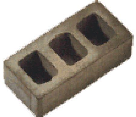 100 ladrillos huecos grises para maquetas. Domus Kits 10211 ...