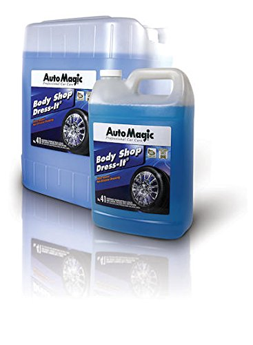 Body Shop Dress-It by Auto Magic - Water Based Non-Silicone Tire Dressing - 1 Gallon (Dressing Silicone Tire)