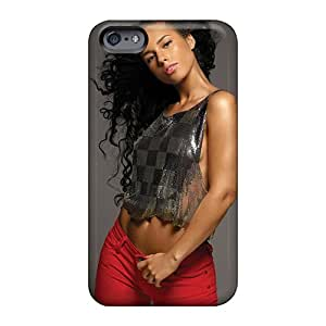 WandaDicks Apple Iphone 6 Plus Shock Absorption Hard Phone Case Customized High-definition Alicia Keys Series [JNU2248pVmD]