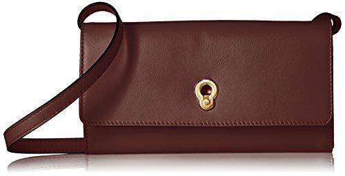Cole Haan Zoe Smartphone Crossbody Clutch Wallet, fired - Clutch Leather Cole Haan