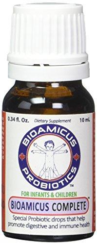 BioAmicus COMPLETE Infant & Toddler Probiotic Drops 10mL