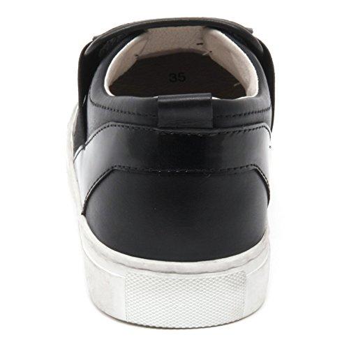 Sneaker Kvinde London B6578 Sko På Kvinde Kriminalitet Sko Frynser Sort Slip qpwdEgCd