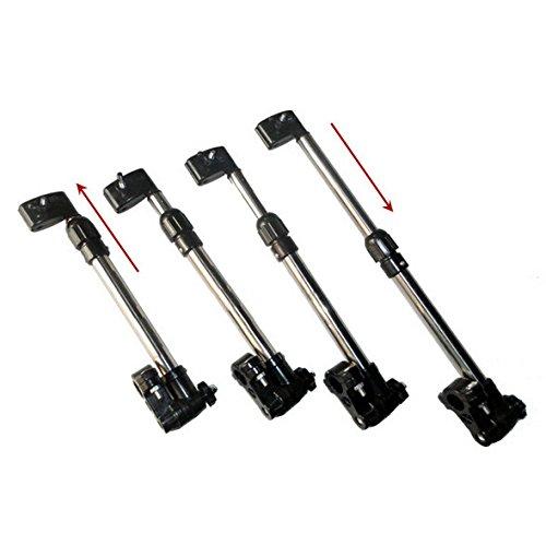 Angel Rollator verstellbar Rollstuhl Regenschirm-Halterung Kinderwagen f/ür Fahrrad Golftrolley Roller