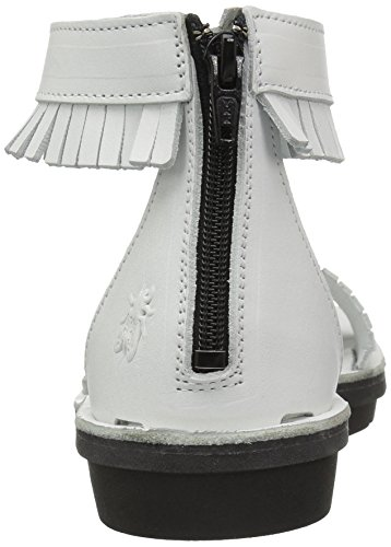 Plateforme Cassé 002 Blanc Femme Off London Sandales White Mexu914 FLY qzYvtz