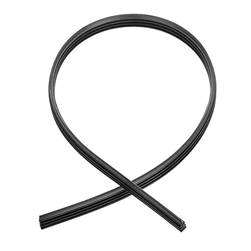 (Merssavo 10Pcs 28 Inch Car Wiper Blade Rubber Strip,Universal Frameless Windshield Wiper Refill Blades)