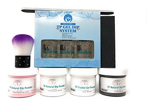 TP Gel Dip System For French Manicure Plus Black Powder Kit
