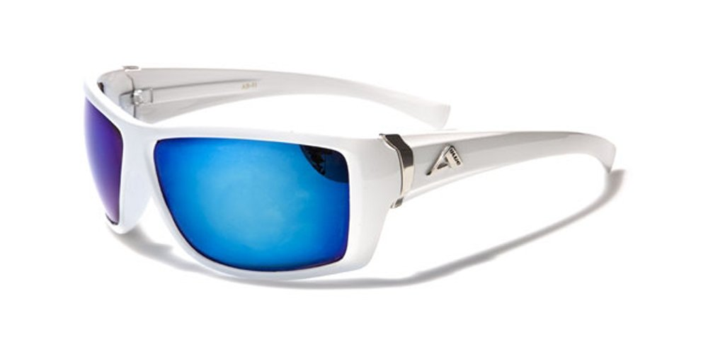 Arctic Blue Specialist Ski Sunglasses - Anti Glare Bluetech Lense (Skiing - Snowboarding - Driving - Cycling - Running) With Vault Case Included