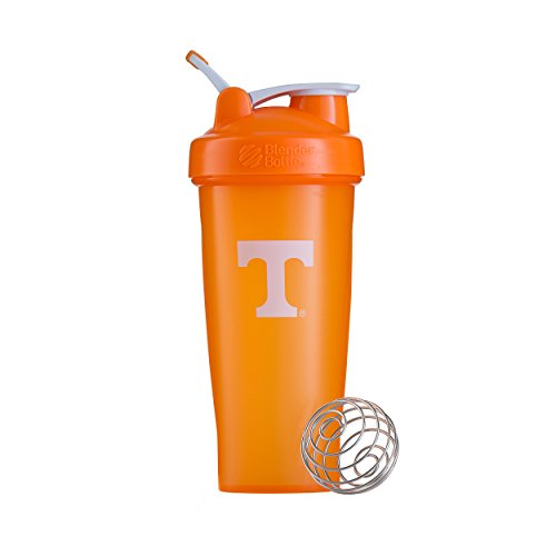 Tennessee Volunteers Orange University - BlenderBottle Collegiate Classic 28-Ounce Shaker Bottle, University of Tennessee Volunteers - Orange/White