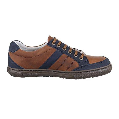 Ital-Design - Zapatillas Hombre Marrón - marrón
