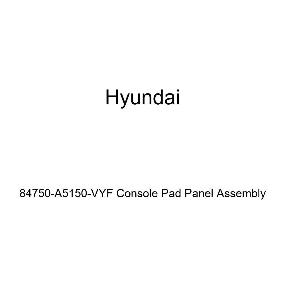Genuine Hyundai 84750-A5150-VYF Console Pad Panel Assembly