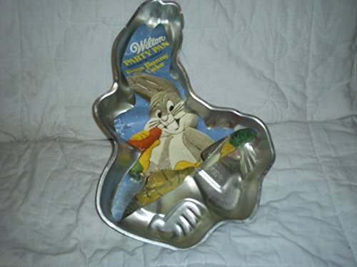 Wilton Bugs Bunny with Carrot Cake Pan (502-7598, 1978) Retired Warner Bros. Looney -