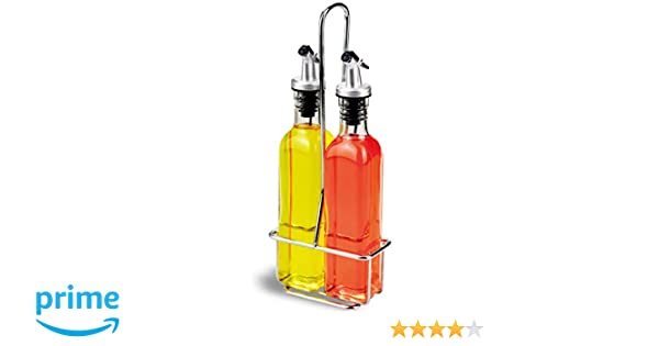 Amina - Dispensador de vinagre y aceite (3 piezas:2 botellas de ...
