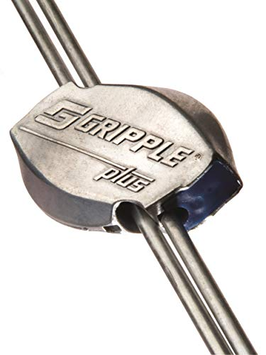 Gripple Plus Medium 20 Pack | Wire Joiner | Wire Tensioner | Works with 10-14 Gauge Wire & 15.5 Gauge Barbed Wire