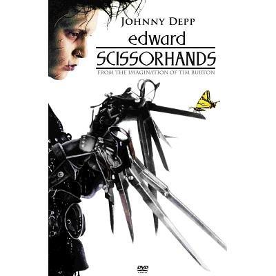 Edward Scissorhands Johnny Depp Movie Poster