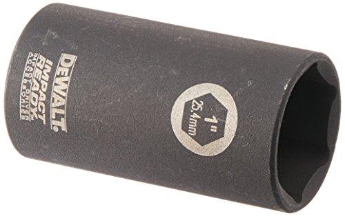 DEWALT DW2294 1-Inch IMPACT READY Deep Socket for 3/8-Inch Drive ()