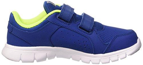 Nike Flex Experience LTR (PSV) Zapatillas de running, Niños Azul / Verde / Gris (Gym Blue / Volt-Wolf Grey-White)