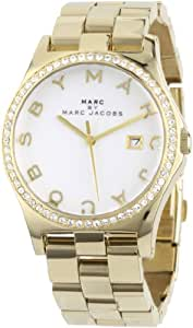 Marc by Marc Jacobs Women's MBM3045 Henry Glitz White Dial Watch