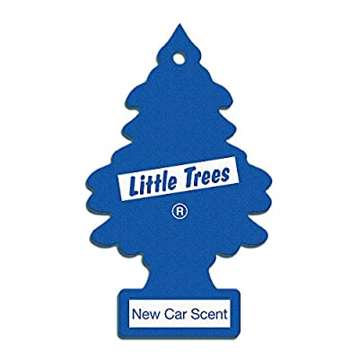 Car Freshener 76171101891 Yellow Little Trees Air Freshener New Car Scent - 1 Each: Automotive