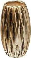 Vaso em Cerâmica Mart Dourado