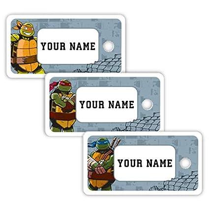Amazon.com : Teenage Mutant Ninja Turtles Theme Personalized ...
