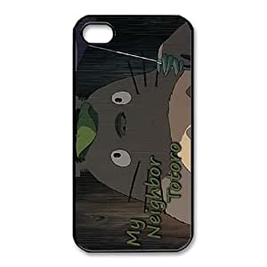 iPhone 4,4S phone Case My Neighbor Totoro Protective Cell Phone Cases Cover DFG146589
