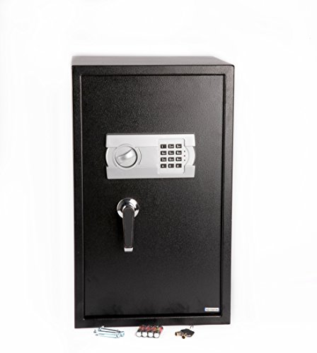 Windaze Large Electronic Digital Safe Security Box Keypad Lock with handle for Gun Cash Jewelry Valuable Storage, 2.68 Cubic Feet by windaze